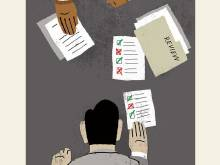 Employee performance reviews are too frequent