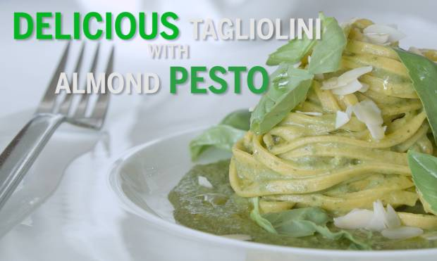 Delicious Tagliolini with Almond Pesto - GN Guides