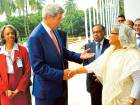 Kerry in Bangladesh for security talks