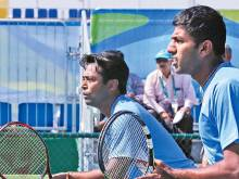 Paes, Bopanna named in squad against Spain