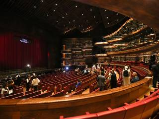 A first look inside Dubai Opera