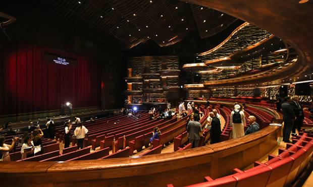 A first look inside Dubai Opera ahead of its grand opening