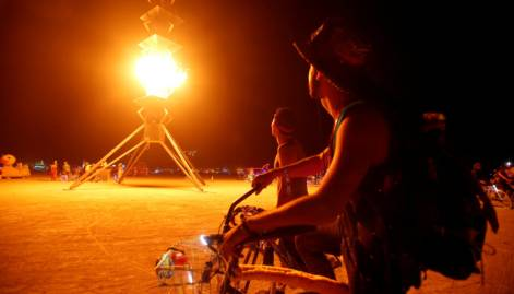 Burning Man Festival: Art in the Desert