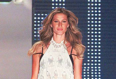 Gisele holds top spot in 'Forbes' model list