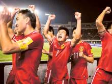China out to prove World Cup run no fluke
