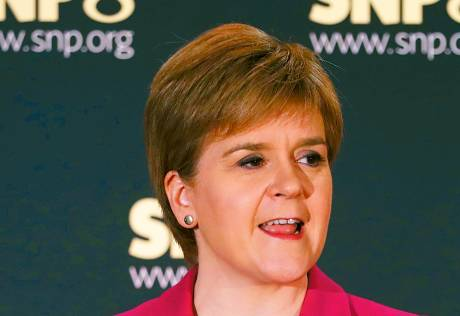 Sturgeon speaks about her miscarriage at 40