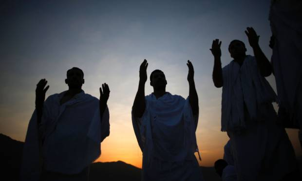Pictures: Pilgrims gather for annual Haj