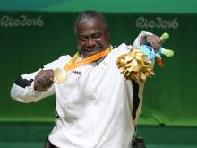 Khalaf gives UAE first Paralympic gold