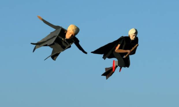 Trump and Clinton flying high in California