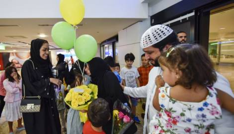 In Pictures: UAE pilgrims return from Haj