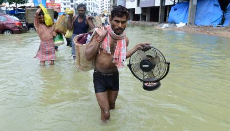 Pictures: Heavy rains wreak havoc in Hyderabad