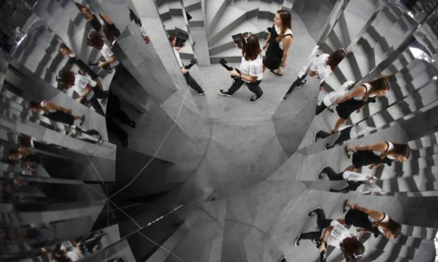 Get lost in a maze of mirrors in London