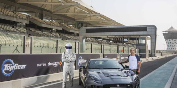 'Top Gear' comes to film in Abu Dhabi