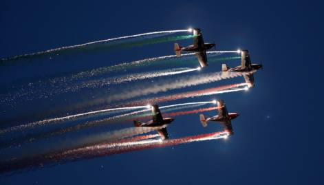 Aerobatic at the Malta International Airshow