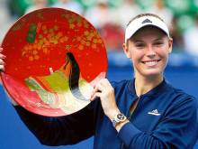 Wozniacki ends title wait with Tokyo victory