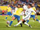 Real Madrid's Cristiano Ronaldo in action against Las Palmas'. He was seen sulking off the field visibly frustrated after being substituted in the European champions' 2-2 draw at Las Palmas.