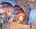 Dh100m cave, glass house approved