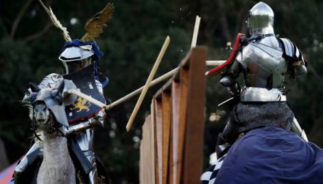 In pictures: Medieval jousting at its finest