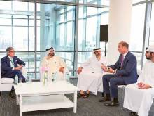 Mohammad visits Bloomberg in Dubai