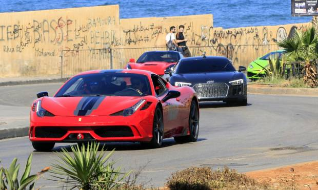 Beirut hosts a Grand Prix for amateur drivers
