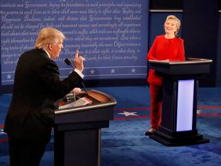 Live: Clinton and Trump battle it out