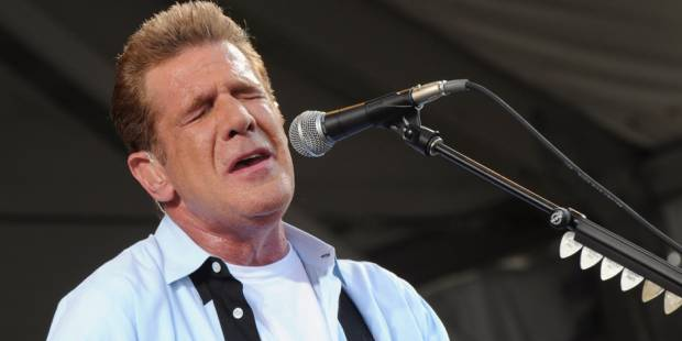 Glenn Frey bronze statue installed in Winslow