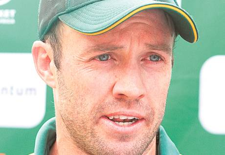 De Villiers ruled out for Australia series