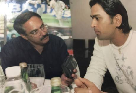 M.S. Dhoni over the years: A reporter's diary