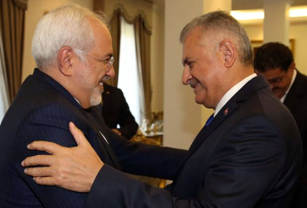 Iranian foreign minister holds talks in Turkey
