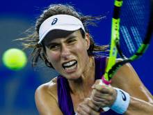 Konta marches on in Dubai