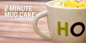 Delicious 2 minute Mug Cake - GN Guides