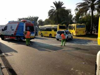 47 injured in Abu Dhabi school bus accident