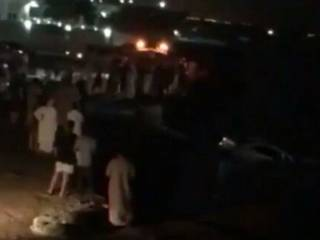 Car falls into sea in Ras Al Khaimah