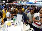 People during the Gitex Shopper.