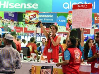 Video: Electronics fiesta as Gitex opens