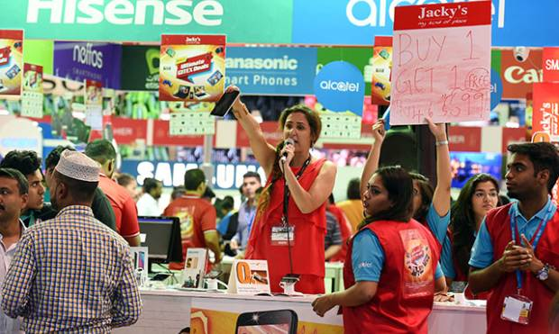 Electronics fiesta kicks off as Gitex opens