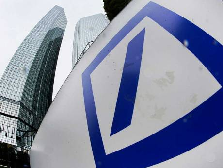 Deutsche Bank's first-quarter profit up 143% on debt trading, lower legal costs