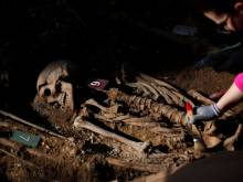 Civil War remains unearthed in Spain