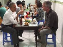 Anthony Bourdain on dining with Trump, Clinton