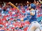 Jays rattle Rangers in playoff series opener