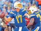 Rivers sets Chargers passing mark versus Broncos