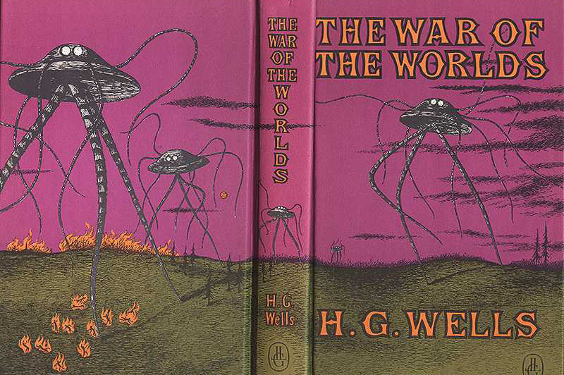 tab_161015 Cover of the book 'War of the Worlds' by H.G. Wells.JPG