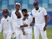 Bishoo heroics give West Indies final-day chance