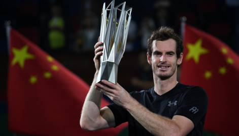 Pictures: Murray wins Shanghai Masters