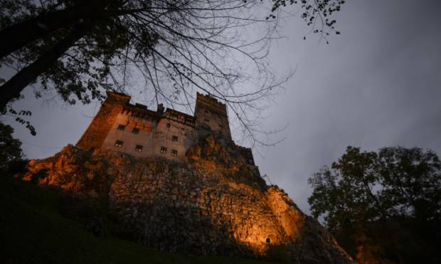 A night's stay at Dracula's castle