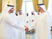 Mohammad receives Crown Prince's Court employees