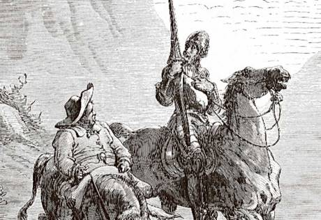 In exile with Don Quixote