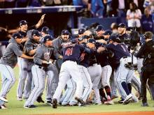 Indians blank Blue Jays to reach World Series