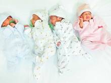 Emirati couple welcomes quadruplets
