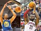 Kevin Durant (left) and LeBron James will be key players to watch out for.